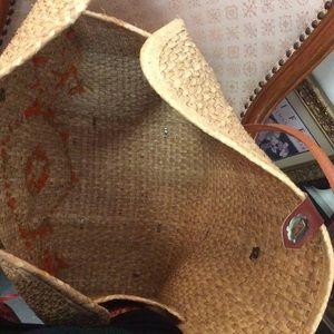 Vintage Bags - Vintage Farmer's Market Basket Bag